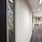 Cream textured wall design