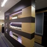 Display storage wall