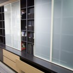 Sliding storage design