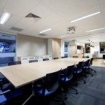 meeting room and kitchen