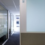 office hallway and walls