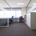 office with 2 desks