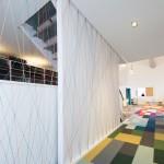 colourful office corridor