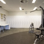 Gym and lockers