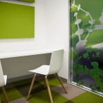 Green work room