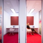 Telephone meeting room