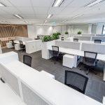 Overview of work desks