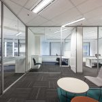 Overview of office rooms