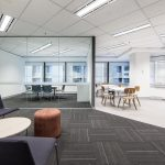 Sitting areas in office