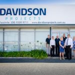 Davidson Projects Staff in front of office